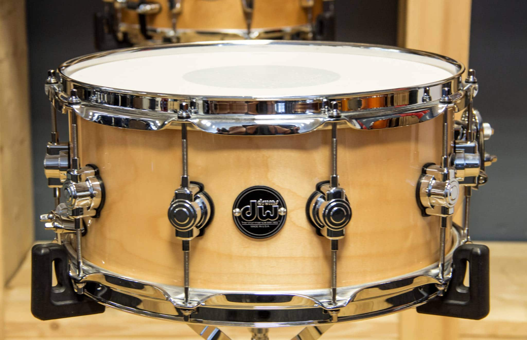 DW Performance series Lacquer Maple snaredrum