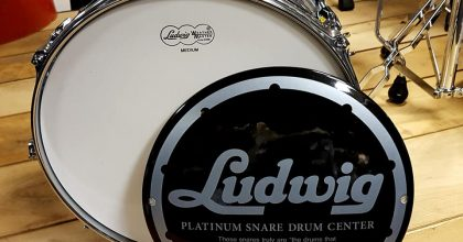 DRUMZAAK is nu Ludwig Platinum Drum Snare Center!